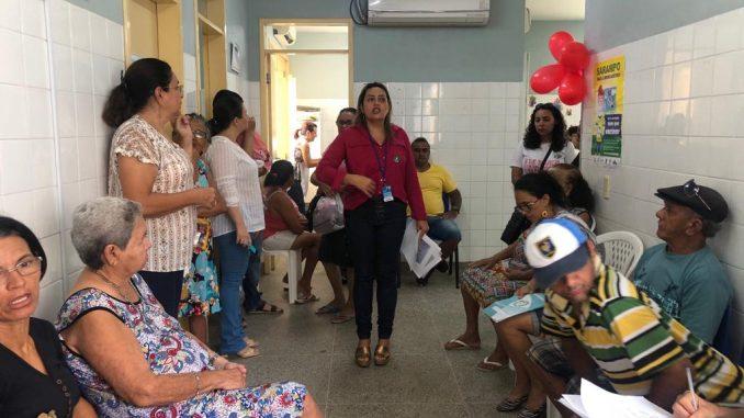 Mossoró: UBS Ildone Cavalcante nas Barrocas realiza manhã de atividades em alusão ao mês da mulher