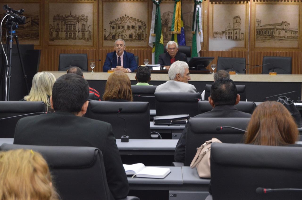 Saúde apresenta Relatório do 3° Quadrimestre de 2017 na Câmara Municipal de Natal