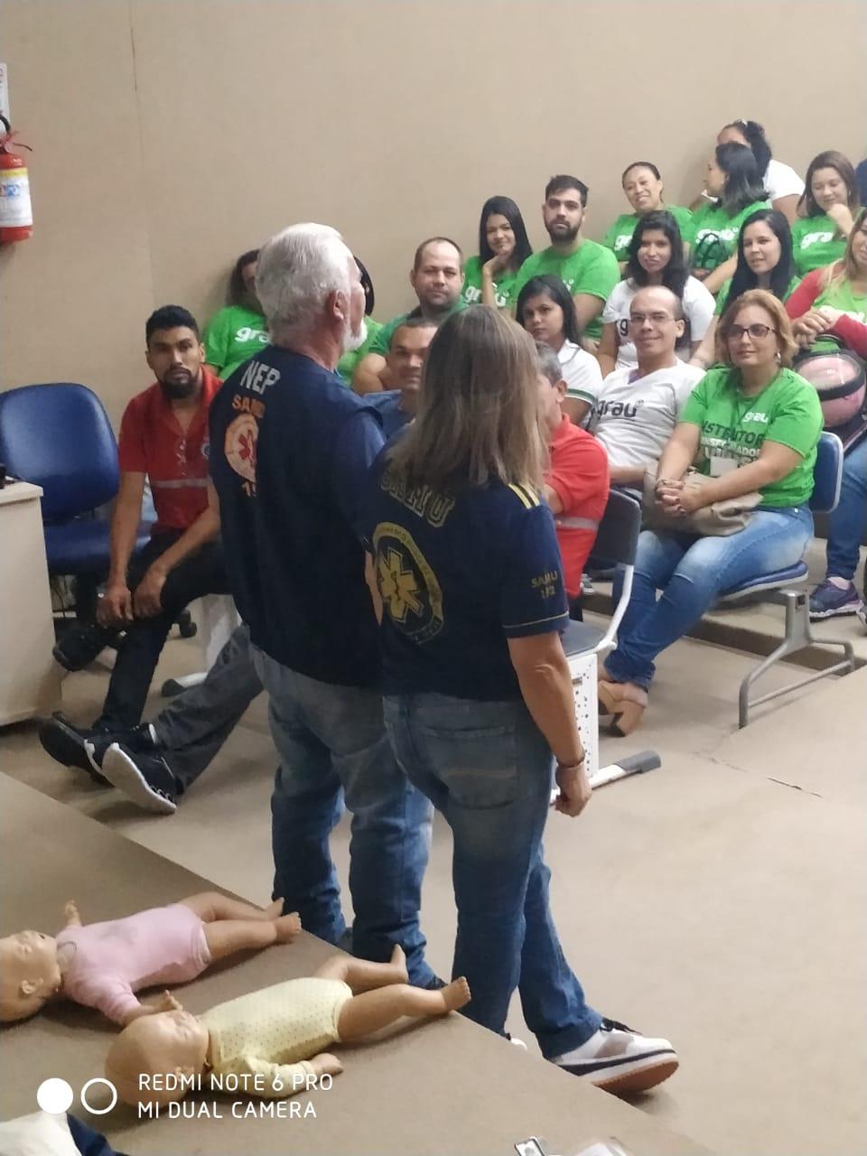 SAMU Natal abre inscrições de curso de primeiros-socorros para a comunidade