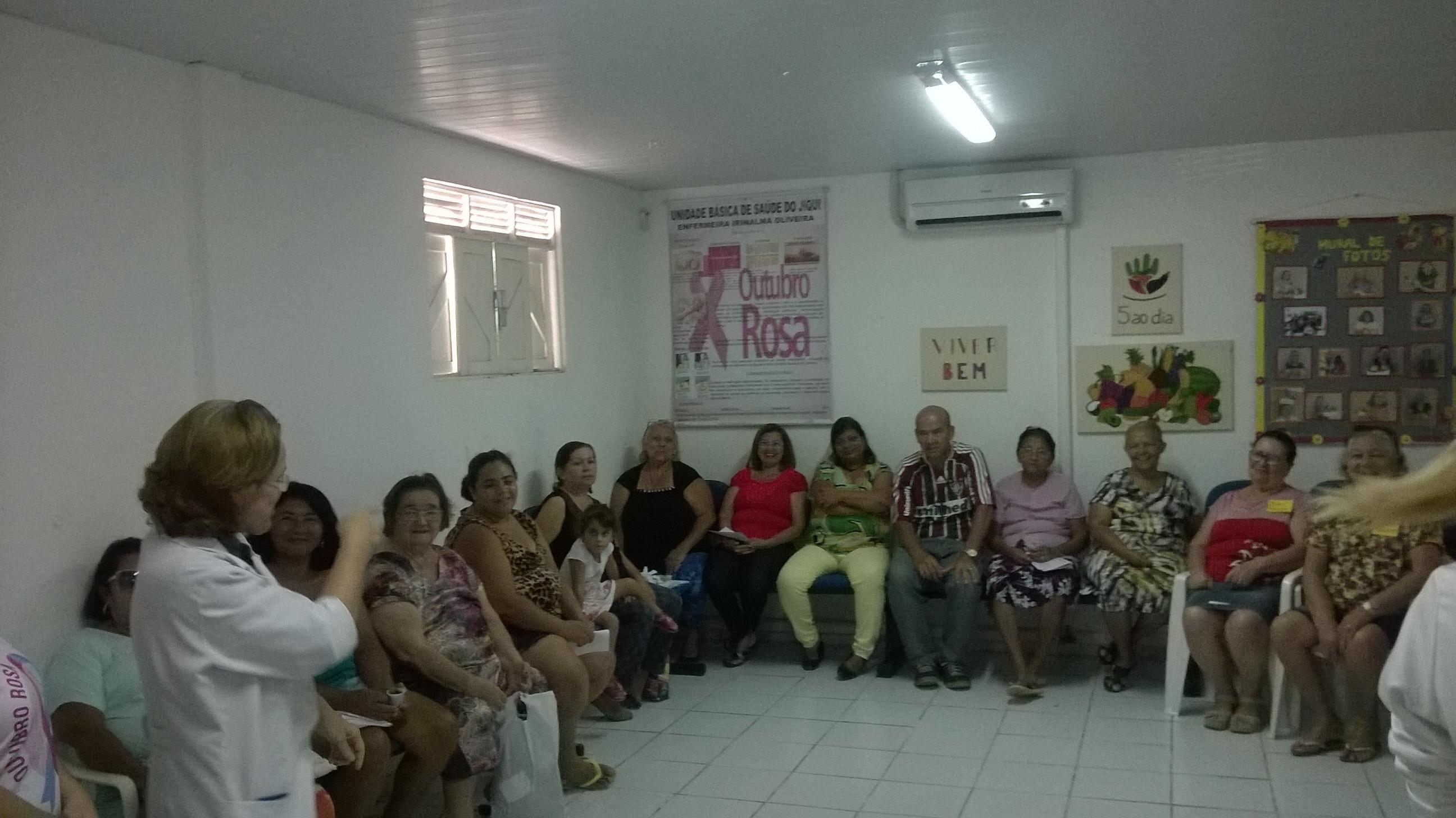 Natal: Unidade de Saúde do Jiqui realiza reunião com o Grupo Viver Bem