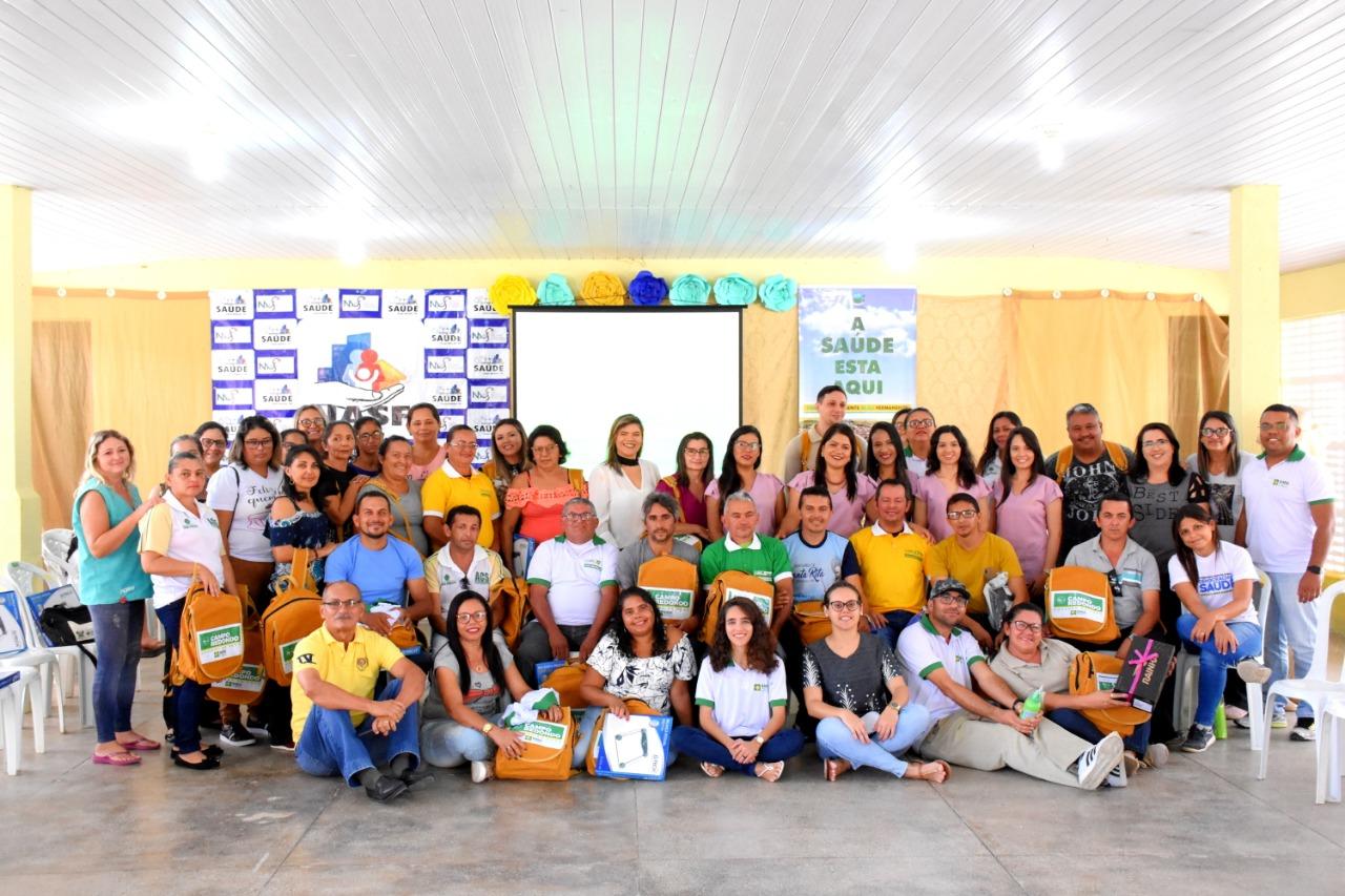 Prefeitura de Campo Redondo faz entrega de equipamentos e fardamentos para agentes de saúde e endemias