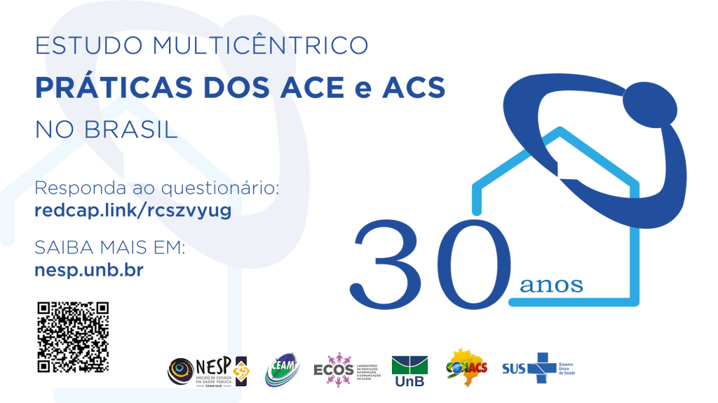 Pesquisa vai analisar perfil e práticas de agentes de endemias e comunitários de saúde
