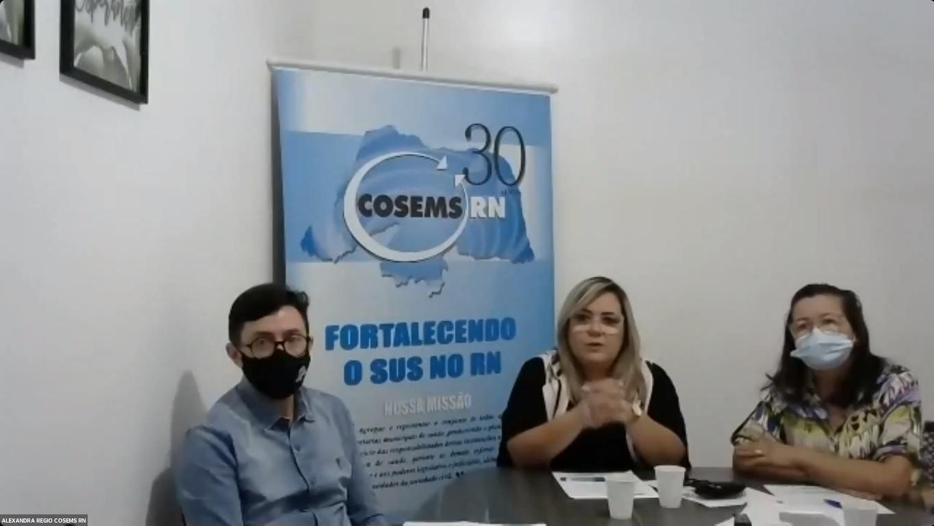 COSEMS-RN REALIZA 240ª REUNIÃO ORDINÁRIA