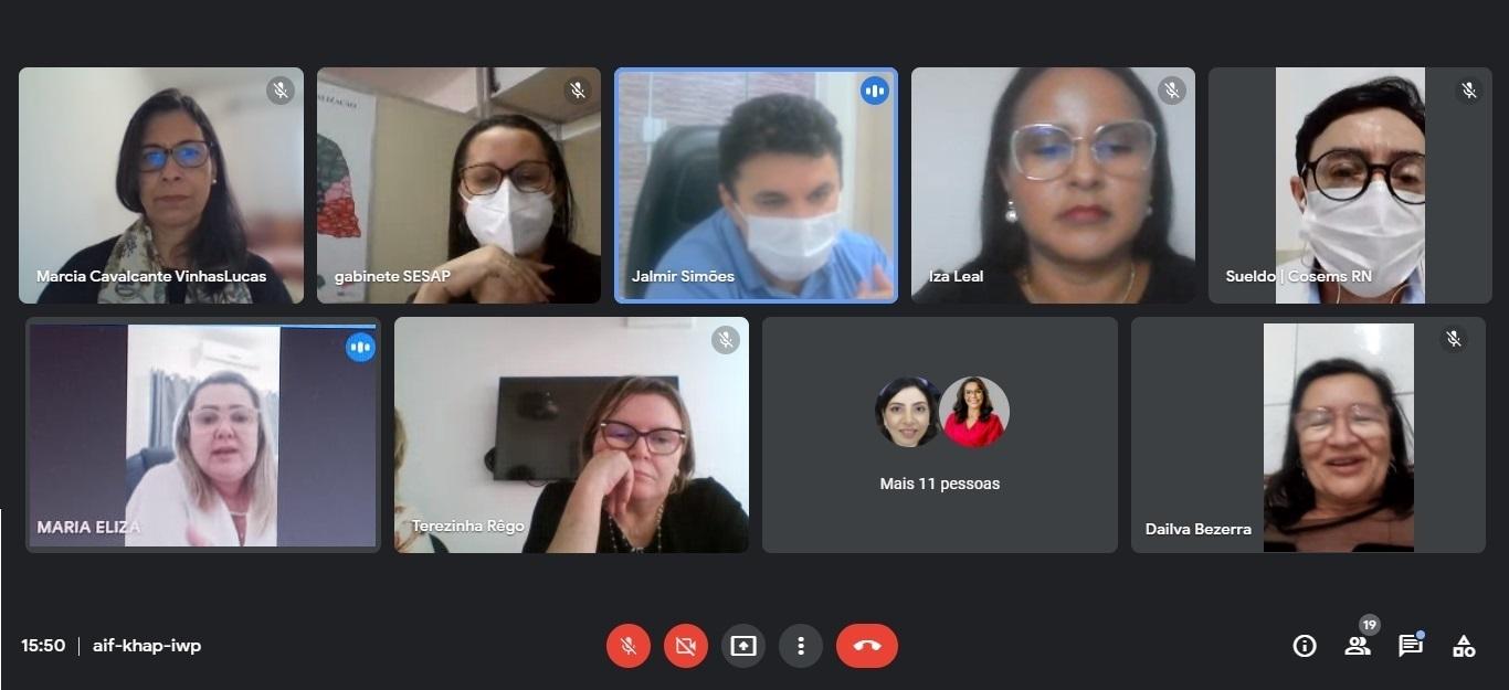 Cosems, Sesap e secretários de saúde debatem modelo de Consórcio Interfederativo de Saúde Pública que será implantado no RN