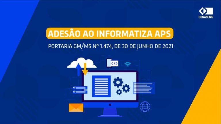 Publicada portaria que homologa a adesão ao Informatiza APS