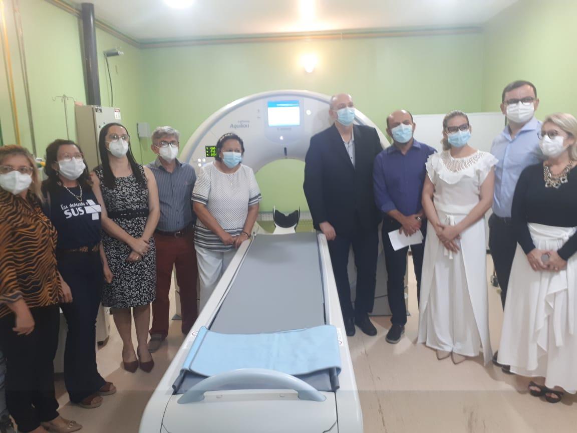 Cosems-RN prestigia inauguração do tomógrafo do Hospital Giselda Trigueiro