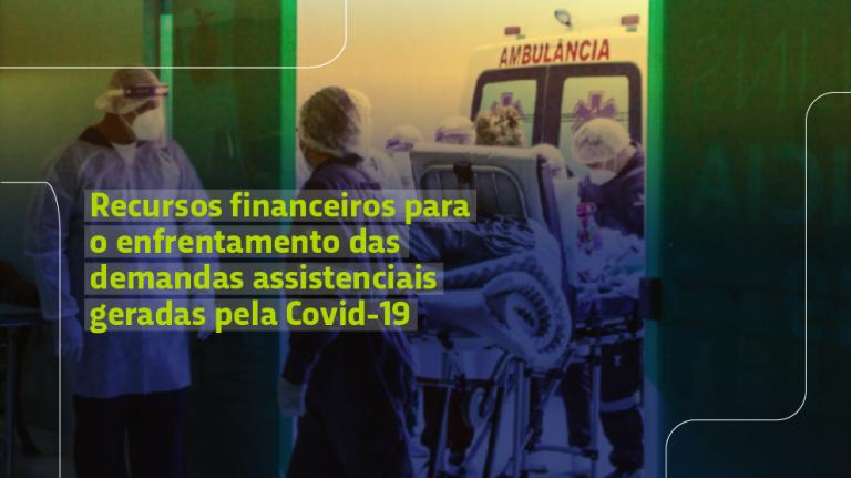 Portaria estabelece recursos financeiros para o enfrentamento das demandas assistenciais geradas pela Covid-19