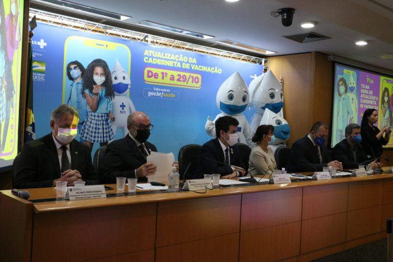 Ministério da Saúde lança a Campanha Nacional de Multivacinação para crianças e adolescente